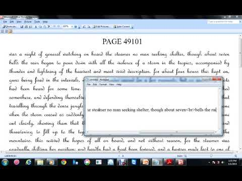 HTML TYPING DEMO VIDEO