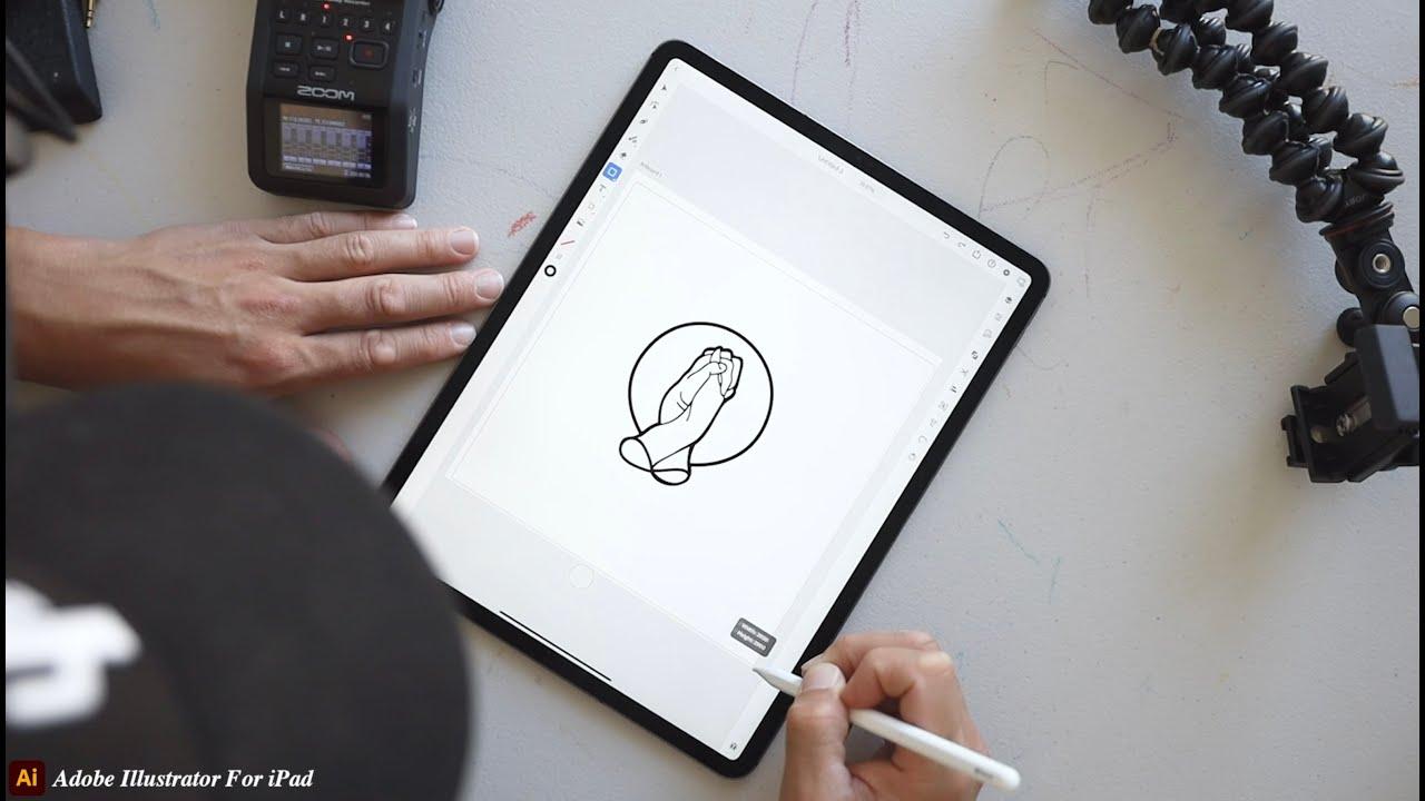 New Adobe Illustrator on iPad Tutorial