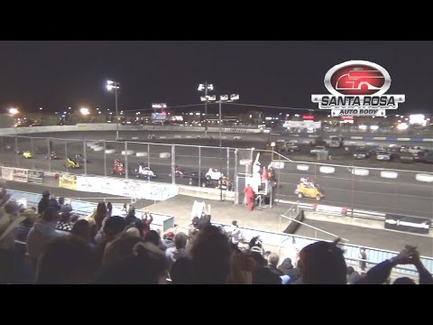 600 Micro Sprint MAIN 9-26-15 Petaluma Speedway - dirt track racing video image