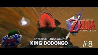 Vamos jogar - The Legend of Zelda: Ocarina of Time #8 - King Dodongo e música épica!