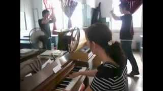 Luyện thanh TT âm nhạc Sen Hồng Saigon 062012