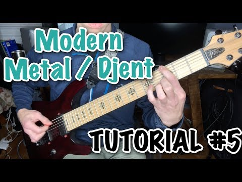 How to Play Modern Metal/Djent ROTW #5 | Riff of the Week