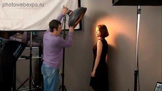 Портрет в студии. Мастер-класс Игоря Сахарова(Постановка света. Схемы стандартные и умение ставить свет без схем. Снято на 18-й