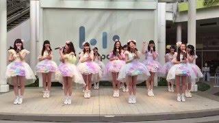 ららぽーと新三郷店 1F スカイガーデンステージで行われた、原宿駅前パ...