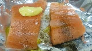 KAIN TAU SALMON+EATING SHOW+ SPRING clean😋