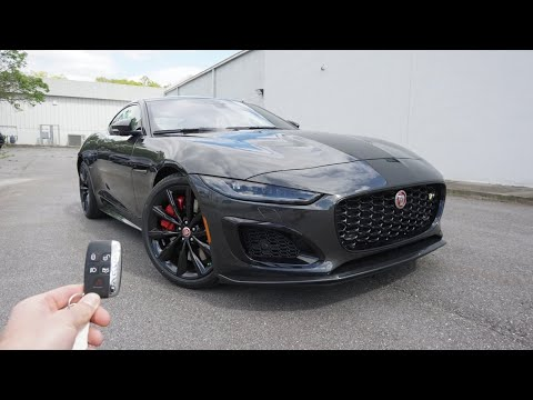 2021 Jaguar F-Type R: Start Up, Exhaust, Test Drive and Review