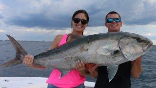 NOT Defeated by Giant Amberjacks! - GIANT Amberjack Fishing
