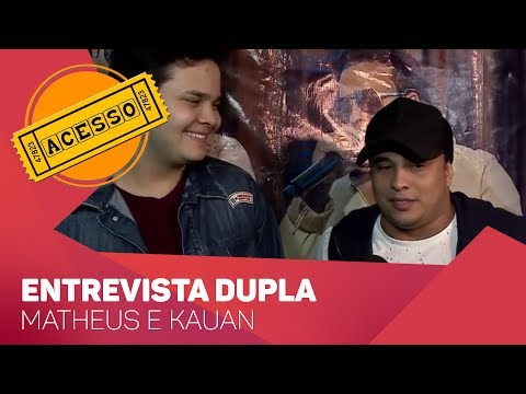 Acesso entrevista Matheus e Kauan - TV SOROCABA/SBT