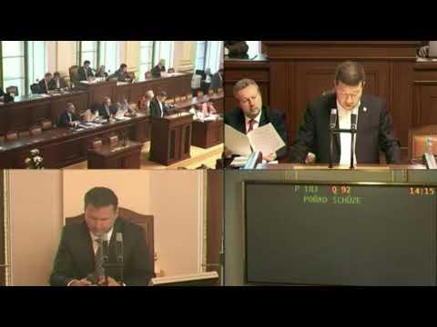 Kalousek v ráži / Sněmovní  projednávání programu schůze