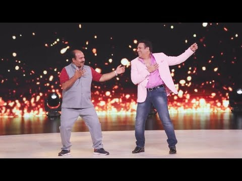 Dabbu Uncle Sanju Srivastav Dancing With Govinda  At Dance Deewane Show