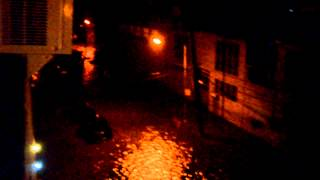 Hurricane / Tropical Storm Sandy in Red Hook Brooklyn 10/29/12