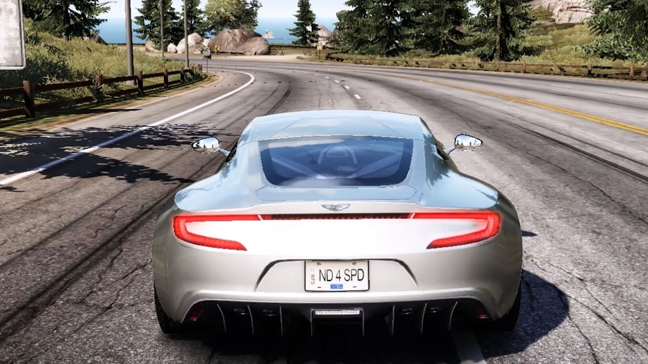 Need For Speed Hot Pursuit Aston Martin One 77 Test Drive Gameplay Hd 1080p60fps Youtube