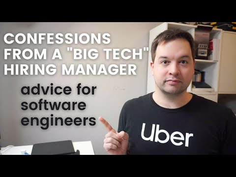 Confessions from a Big Tech Hiring Manager: Tips for Software Engineering Interviews