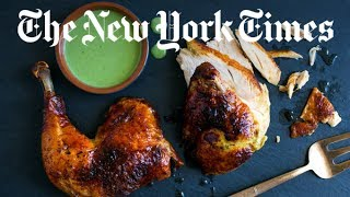 Green Goddess Roasted Chicken Recipe