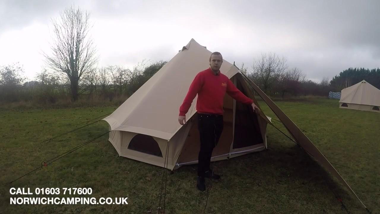 Quest Elite Signature Range 4m Bell Tent | Tents | Norwich