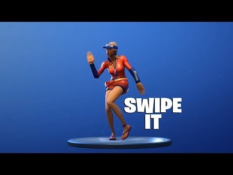 FORTNITE - Swipe It Emote
