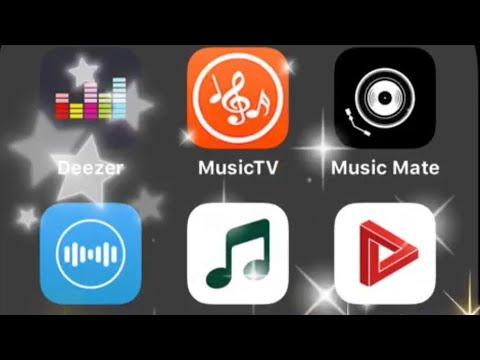 افضل 9 برامج موسيقى و اغاني في الايفون 2019 Youtube
