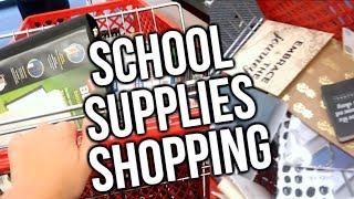 School Supplies Shopping Vlog!