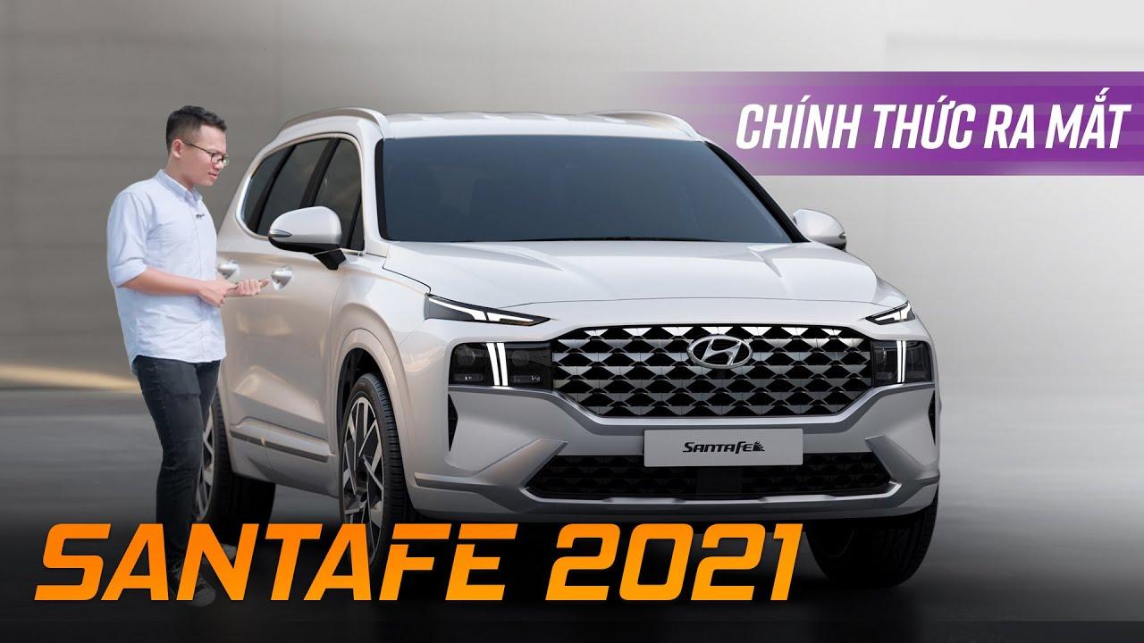 Hyundai Santafe 2021 chính thức ra mắt: Fortuner, CX-8,… đứng ngồi không yên