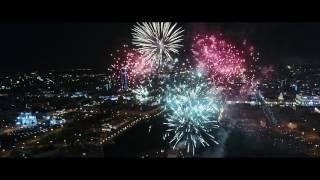 День Победы - 2017. Салют в Екатеринбурге