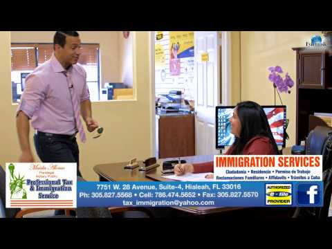 PROFESSIONAL TAX & IMMIGRATION SERVICES, Oficina de inmigracion Hialeah (305)827 5570