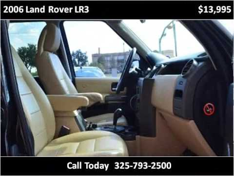 2006 land rover lr3 used cars abilene tx youtube. Black Bedroom Furniture Sets. Home Design Ideas