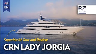 [ENG] M/Y CRN - CLOUD 9 - 4K Full Review - The Boat Show