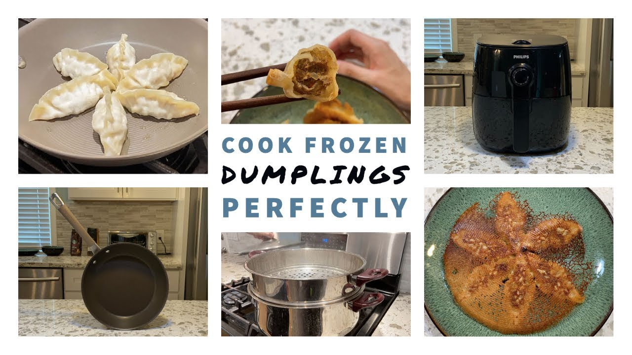 3 Ways to Cook FROZEN DUMPLINGS PERFECTLY (Easy and Fast ...