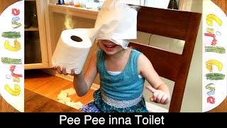 Pee Pee in the Toilet - Girl Glue [Potty Training Peepee by Fifi and PreK]