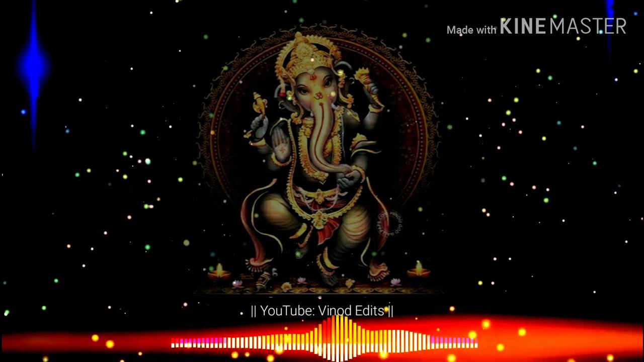 Download Gananayakaya Ganadaivataya Lord Ganesh Song WhatsApp Status | Gowri Ganesh | Vinod Edits |