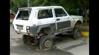 Прикольные и интересные переделанные российские авто