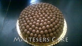 How To Do A Maltesers Cake