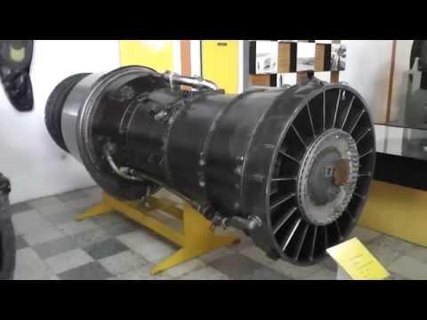 Pratt & Whitney J57 JT3C - 6.125 Kp turbojet engine