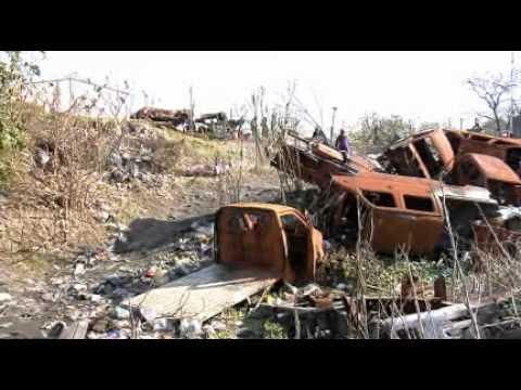 Quitaron 400 Vehiculos Quemados En Cementerio De Autos Robados Youtube