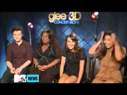 Glee Cast Funny