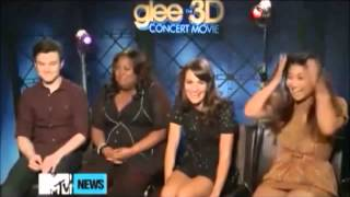 Glee Cast Funny Moments 1