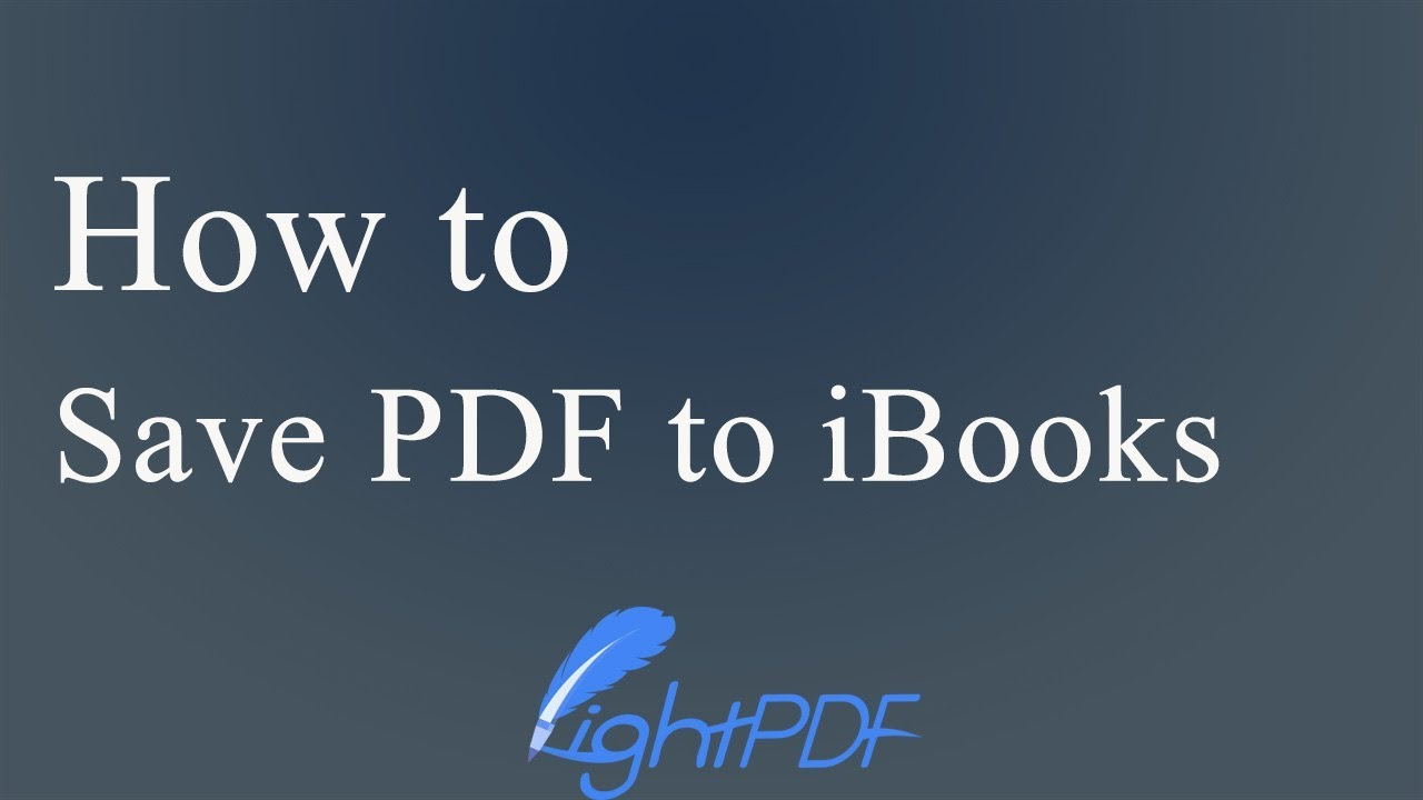 4 Feasible Solutions to Add PDF to iBooks