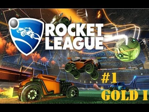 Rocket League Solo Standard - I SUCK at this game!! Gold I