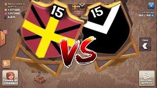 CLAN WAR LIV 15 VS LIV 15! LA PRIMA GUERRA SUL CANALE! - Clash of Clans