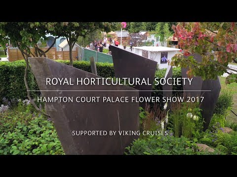 RHS Hampton Court Palace Flower Show 2017 | RHS Watch This Space Garden with Andy Sturgeon