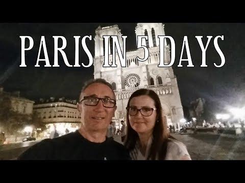 Five Days in Paris - September 2016