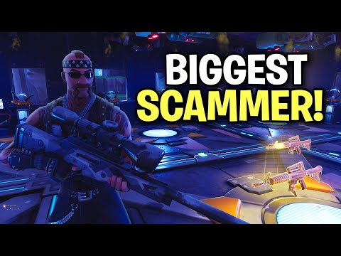 biggest scammer ever loses whole inventory! 😎 (Scammer Get Scammed) Fortnite Save The World