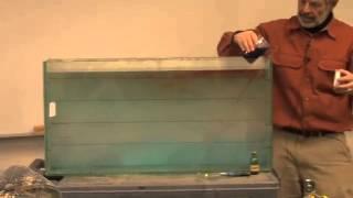 Seiche Tank - Dr. Wayne Wurtsbaugh