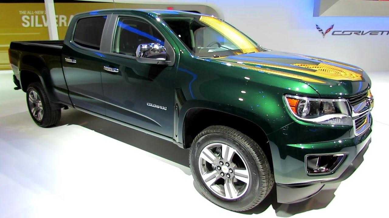 2015 Chevrolet Colorado Lt Exterior And Interior Walkaround 2014