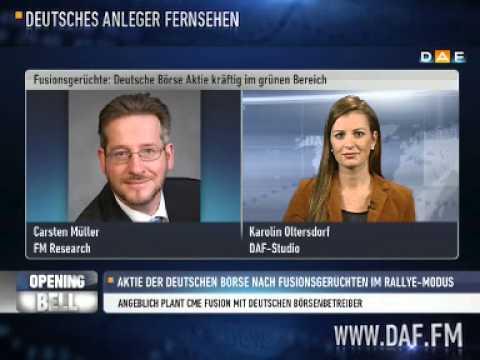 Deutsche Börse: Gerüchte um Fusion mit CME