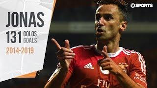 Jonas: 131 golos pelo Benfica (2014-2019)