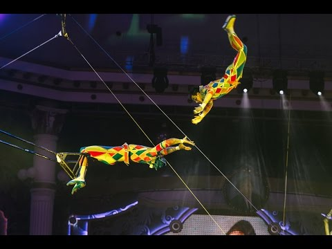 Flying Trapeze ''Heroes''15th Moscow International Circus Festival 2016.