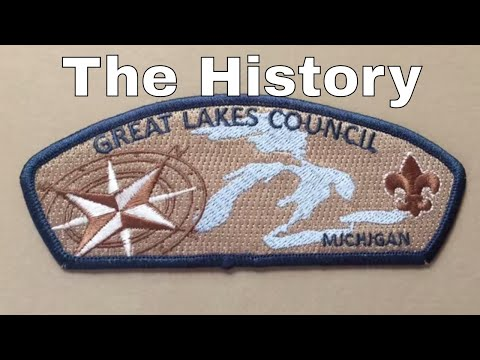 The story behind the design of the Boy Scouts Great Lakes Service Council shoulder patch