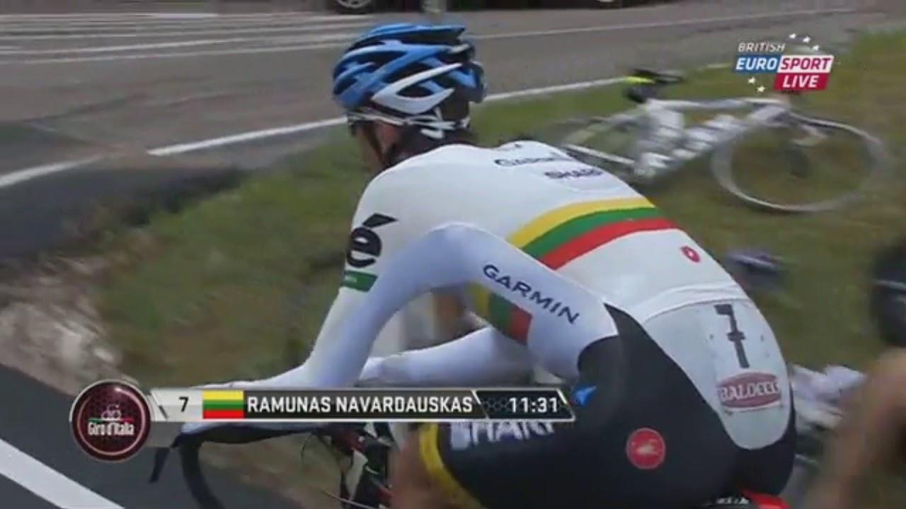 Giro d'Italia 2013 - Stage 18 (part 1) - YouTube