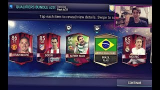 FIFA Mobile LIMITED EDITION WORLD QUALIFIERS BUNDLE PACK OPENING!!! 6 ELITES IN 1 PACK!! 24 Elites!